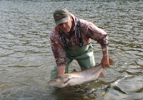 Mike's 30lb Atlantic Salmon