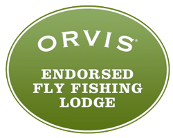 orvis endorsed fly fishing lodge logo