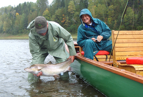 Paul's 30lb Atlantic Salmon