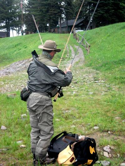 Big Jim Elie gearing up to fish