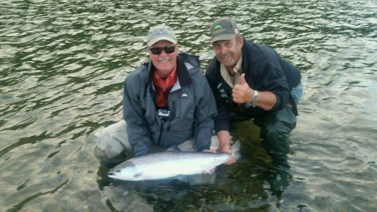 Karl and Guide Ludger with a nice Atlantic